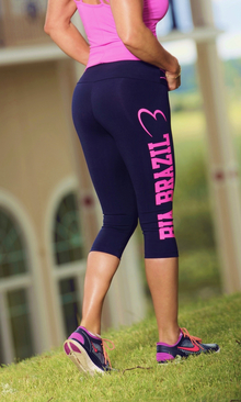 Bia Brazil Short Leggings 3115 Logo Black.