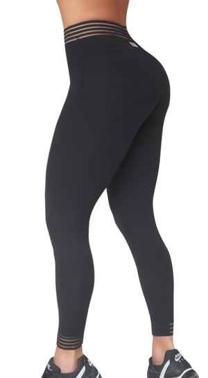 RAW By Adriana Kuhl Urban Tights Black