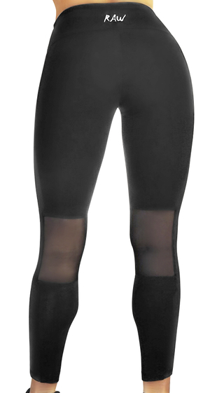 Raw By Adriana Kuhl Tights Glow Black