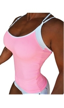 RAW By Adriana Kuhl Tanktop Athletic Soft Pink