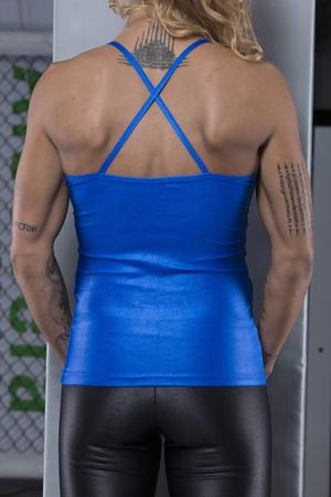 Bia Brazil Tanktop 4262 Metallic Blue