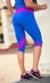 Bia Brazil Short Leggings 2882 Ocean Blue / Pink