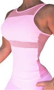RAW By Adriana Kuhl Aphrodite Tanktop Soft Pink