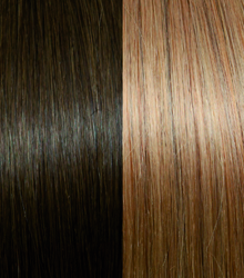 Exclusive Line #8/26 Dark Blond With Rosé Blond Stripes