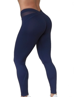 Bubble Butt Tights Blue