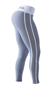 Bia Brazil Leggings 2462 Curves Light Grey