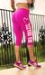 Bia Brazil Short Leggings 3115 Logo Pink
