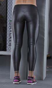 Leggings 2864 Metallic Black