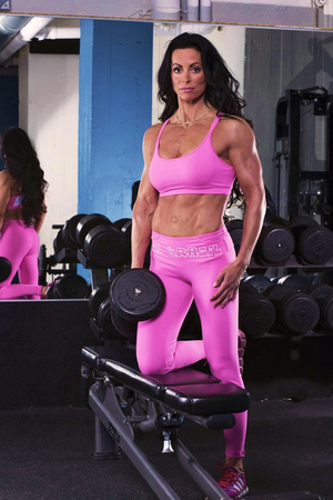 Bia Brazil Leggings 2864 Hot Pink / White