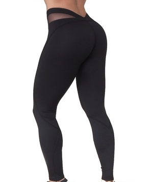 RAW By Adriana Kuhl Bubble Butt Tights Black