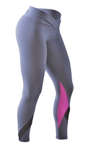 Bia Brazil Leggings 5001 V-CUT Basic Grey