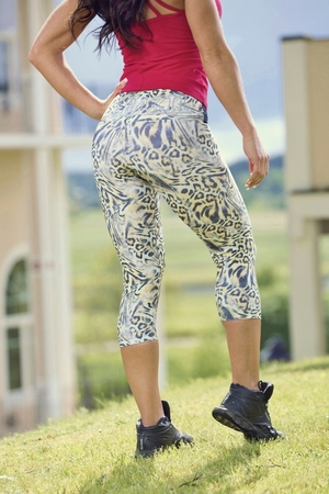 Bia Brazil Short Leggings 3115 Summer Leopard