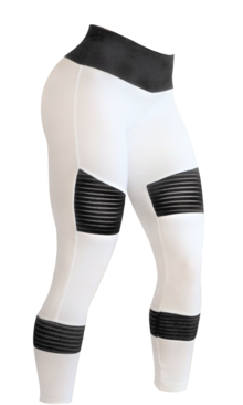 Bia Brazil Tights 5058 Biker White