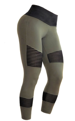Bia Brazil Tights 5058 Biker Army