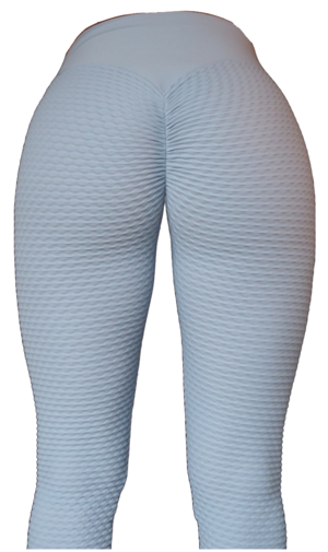 Brazilian Butt Scrunch Leggings Light Grey