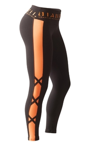 Bia Brazil Leggings 2854 Black / Foxy Orange