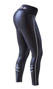 Bia Brazil Leggings 5034 Elegance Metallic Black
