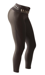 Bia Brazil Leggings 2886 Metallic Black Glamour