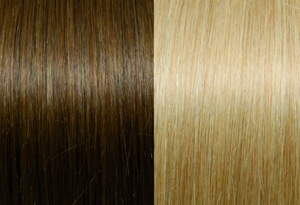 Selected Line #12/DB2 Light Golden Blond With Dark Blond Stripes