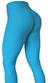 RAW By Adriana Kuhl Brazilian Butt Scrunch Tights Light Blue