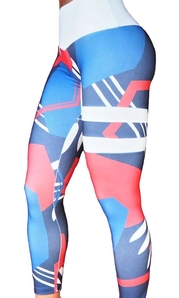 Bia Brazil Tights Stripes Sunset
