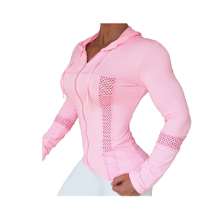 Bia Brazil Jacket Net Soft Pink