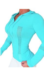 Bia Brazil Jacket Net Baby Blue