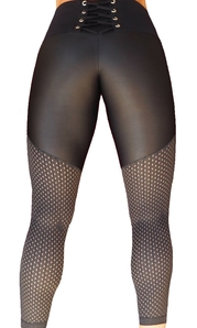 Raw By Adriana Kuhl Tights Crush Black