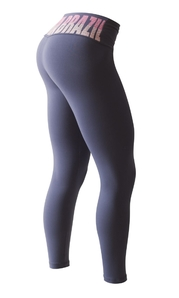 Leggings 3124 Slim Fit Midnight Blue / Hot Pink