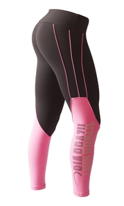 Leggings 3121 Silhouette Black / Hot Pink