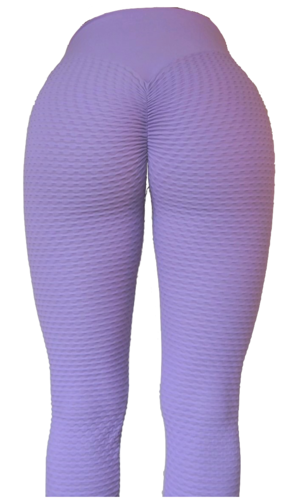 RAW By Adriana Kuhl Brazilian Butt Scrunch Tights Light Purple