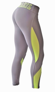 Leggings 2887 Shape Up Grey/Hot Yellow