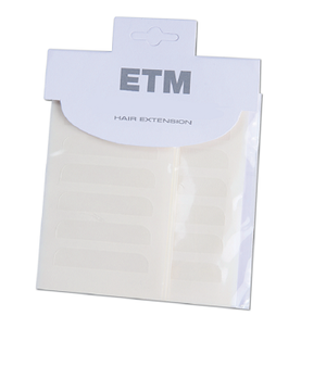 Enkelhäftande förklippt tejp till tejpextensions (48 st)