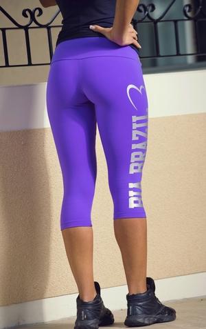 Bia Brazil Short Leggins 3115 Logo Magic Purple.