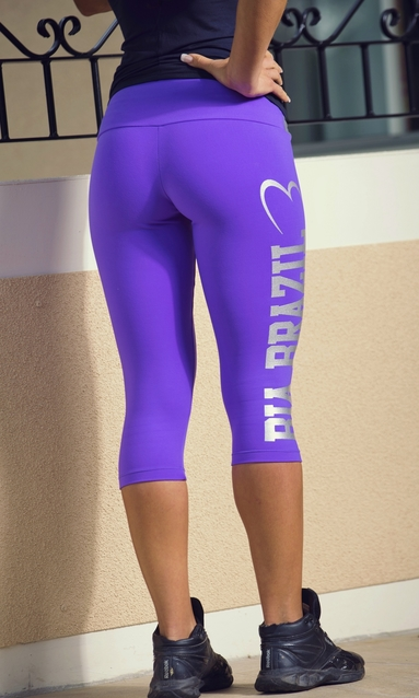 Bia Brazil Short Leggins 3115 Logo Magic Purple.